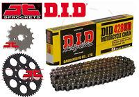 DID Heavy Duty 428 Drive Chain & JT Sprocket Upgrade Kit Honda MSX125 Grom