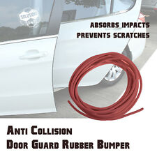 15FT 3M Backing Rubber Flexible Door Edge Guard Scratch Paint Protection - RED