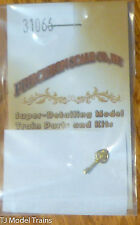 Precision Scale Ho #31066 Bell, 3.2mm, Cast w/Bracket, Rigid (Brass Casting)