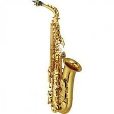 Yamaha Alto Sax with YAS-62 Gold lacquer case from japan
