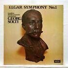 SXL 6569 - GEORG SOLTI - ELGAR symphony no.1 DECCA LP EX