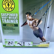 GOLD'S GYM Suspended Body Weight Trainer Total Body Home Workout Fitness Kit