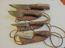 4-KNIFE'S IN ALL - 2- BAG STRAP KNIFE'S, &  LG. SKINNER, & LG. BAG KNIFE
