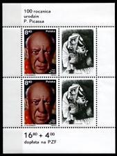 100. cumpleaños de Pablo Picasso. Block. Polonia 1981