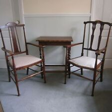Unbranded Antique Style Wooden Chairs