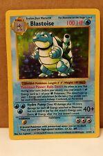 1999 Pokemon Blastoise Hologram 2/102 Pokemon Card
