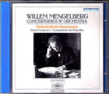Willem MENGELBERG DOPPER Ciaconna Gotica WAGENAAR Cyrano Wilhelmus JO VINCENT CD