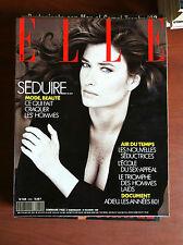 ELLE n° 2242 Decembre 1988 Cover: Rosemary Mac Grotha - E7833