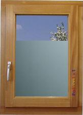 26,32€/qm Fenster Klebefolie Milchglas/silber Sichtschutz 90 x 75 cm Dusche Büro