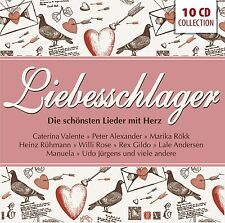 10 CD LIEBESSCHLAGER COLLECTION (REX GILDO / MARIKA RÖKK / UDO JURGENS u.v.m.)
