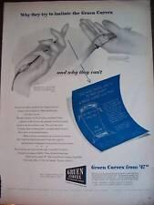 1944 Antique Gruen Curvex Wrist Watch Ad