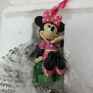 Disney Sketchbook Minnie Mouse Christmas Ornament 2015 New In Box Orignal