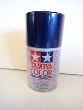 Tamiya - COLOR SPRAY PAINT FOR POLYCARBONATE 100 ml - PS-59 DARK METALLIC BLUE