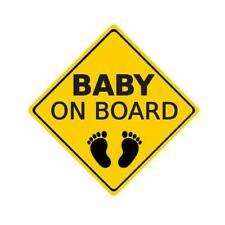 """baby On Board"" Warning Sticker Car Sticker Window Reflective Decoration E6I3"