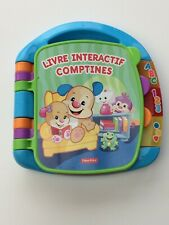 🌸♥ LIVRE INTERACTIF COMPTINES ♥🌸 FISHER PRICE 🌸 TBE 🌸