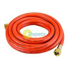 Heavy Duty Propane Butane 5m Gas Regulator Hose 5 Metre Plumbing