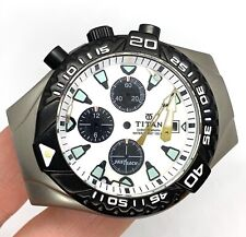 Titan Fastrack 1021SBA Chronograph 100 Mt. Box Case Body Sphere Dial 1 19/32in