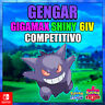 Gengar Gigamax Shiny 6 IV COMPETITIVO Pokemon espada escudo ENTREGA RAPIDA