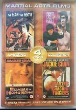 4 Martial Arts Films On 2 DVD Discs. Very Good Condition.    FREE UK DELIVERY