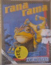 Rana rama (hewson) Commodore c64 casete (box, Tape) 100% aceptar Classic-Game