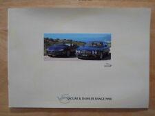 JAGUAR DAIMLER RANGE 1998 32p Sales brochure - XK8 XJ8 Super V8 Sovereign XJR