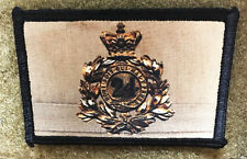 British 24th Regiment of Foot Crest War Morale Patch Martini Henry Zulu Redcoat