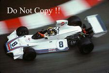 Carlos Pace Brabham BT44B de Martini Racing Monaco Grand Prix 1975 fotografía 4