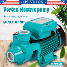 1/2Hp Electric Water Pump Industrial Pond Pool Farm Pumps Plumbing Home Tool