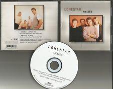 LONESTAR Amazed w/ RARE CAPTAIN MIX & AC MIX Limited USA CD single 1999