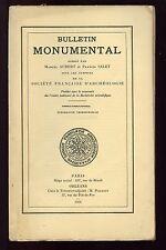 BULLETIN MONUMENTAL 1971-2 St Louis de Poissy Pilgrimage roads  Jehan de Derval