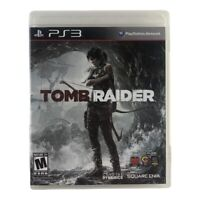 Tomb Raider (Sony PlayStation 3, 2013) Complete w/Manual CIB