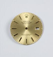 """Quadrante dorato per orologio Rolex modello """"Datejust"""" mm36 ref 16233"""