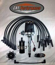 small cap AMC JEEP 290,304,343,360,390,401 BLACK HEI Distributor + COIL + Wires