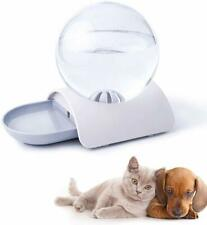 Pet Cat Dog Feeder Fountain Bubble Automatic Cats Water Drinking Bowl Dispenser