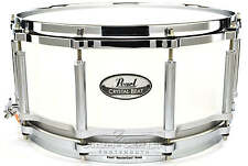 Pearl Crystal Beat Acrylic Free Floating Snare Drum 14x6.5 Frosted