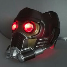 Star Lord LED Helmet Cosplay Avengers Superhero Star Lord Quill LED Mask PVC New