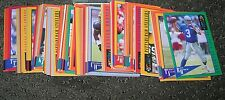 1995 CLASSIC NFL EXPERIENCE COMPLETE 110 CARD SET