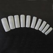 500 x Nail Tips Nagelspitzen Weiß Frenchspitzen Künstliche Fingernägel Set *