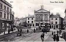 P.C Town Hall Luton Bedfordshire P U 1910  Publisher Valentine Good Condition