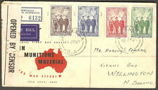1940 Aif Australian Imperial Forces Military Fdc Australia Whyalla Sa Censor