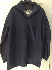 "Boys' Navy Blue John Lewis Waterproof Jacket - 32"" Chest - New"