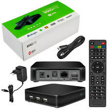 MAG 410 Android IPTV Streamer HEVC SET TOP BOX Stalker Multimedia Internet TV 4K