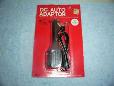 Vintage Kmart 4-Way Output Plug Dc Auto Adapter 06-39-47 New In Package