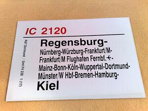 ZLS IC 2120 Regensburg - Würzburg - Wuppertal - Hamburg - Kiel F4 330 1(17)