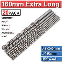 6NRN5 Pack of 20 Bright Size 9//32 Westward Jobber Drill Blank High Speed Steel
