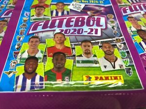 PANINI Futebol Portugal Liga NOS 2020/21  20 x Sealed Packs