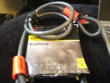 """kryptonite kryptolok heavy duty bike locke with 4"""" flex ex shop stock"""