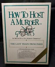 HOW TO HOST A MURDER The Last Train From Paris MYSTERY GAME (m)