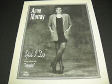 ANNE MURRAY Yes I do and Everyday original PROMO POSTER AD mint condition