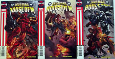 IRON MAN HOUSE OF M 1-3 (1,2,3)...NM-...2005...Greg Pak,Pat Lee...Bargain!